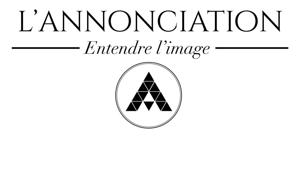 Annonciation Entendre L'Image Logo