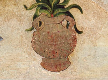 vase illustré
