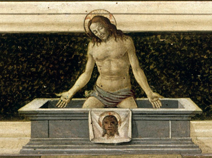 Détail du Jésus de Botticelli