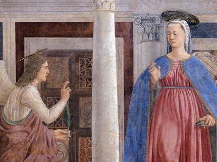 Piero Della Francesca, Annonciation, Arezzo