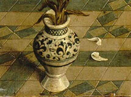 vase orné